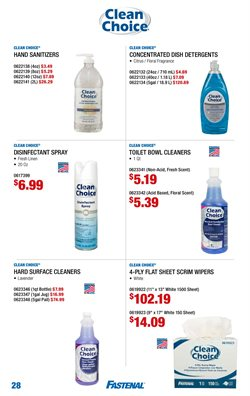Plants deals in the Fastenal weekly ad in Federal Way WA