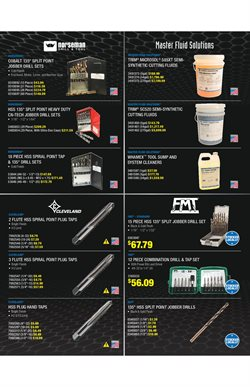 Drill deals in the Fastenal weekly ad in Fairfield CA