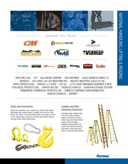 Planks deals in the Fastenal weekly ad in New York