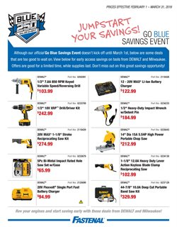Tools & Hardware deals in the Fastenal weekly ad in Federal Way WA