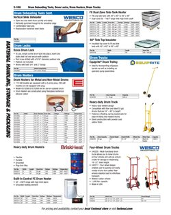 Heater deals in the Fastenal weekly ad in New York