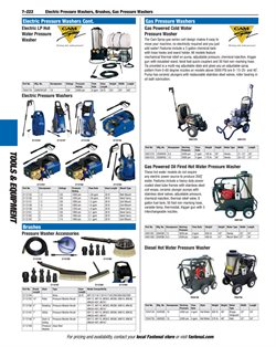 Thermostat deals in the Fastenal weekly ad in New York