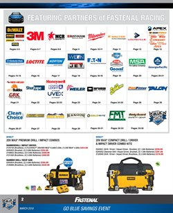 DeWalt deals in the Fastenal weekly ad in New York