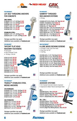 Alarm deals in the Fastenal weekly ad in New York