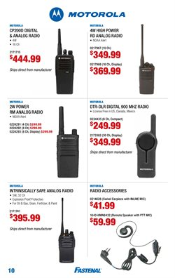 Thinner deals in the Fastenal weekly ad in Baytown TX