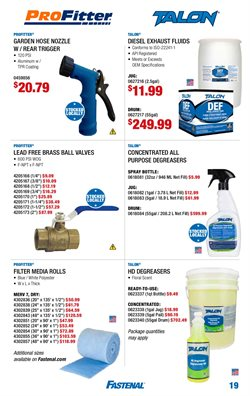 Lawn mower deals in the Fastenal weekly ad in Columbus OH