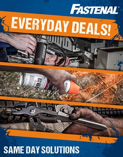 Fastenal deals in the Schenectady NY weekly ad