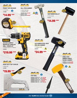 Drill deals in the Fastenal weekly ad in New York