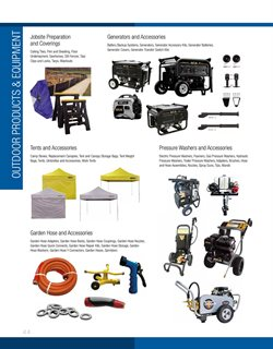 Generator deals in the Fastenal weekly ad in New York