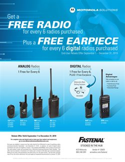 Tools & Hardware deals in the Fastenal weekly ad in Whittier CA