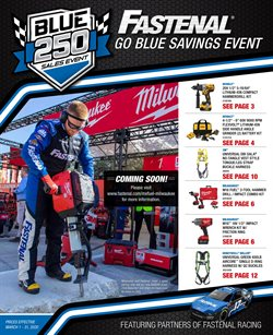Tools & Hardware offers in the Fastenal catalogue in Riverside CA ( Expires tomorrow )
