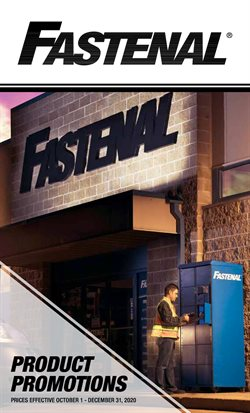 Tools & Hardware offers in the Fastenal catalogue in New York ( 26 days left )