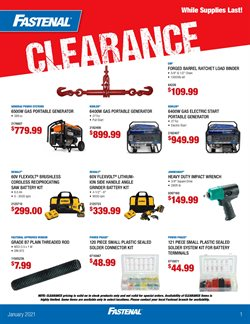 Tools & Hardware offers in the Fastenal catalogue in Pasadena TX ( 4 days left )