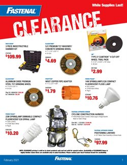 Tools & Hardware offers in the Fastenal catalogue in Cicero IL ( Expires today )