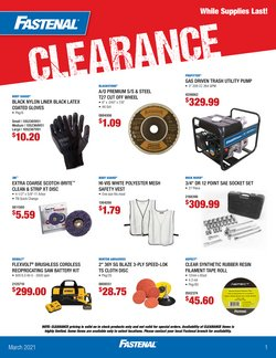 Tools & Hardware offers in the Fastenal catalogue in Bridgeport CT ( 2 days ago )