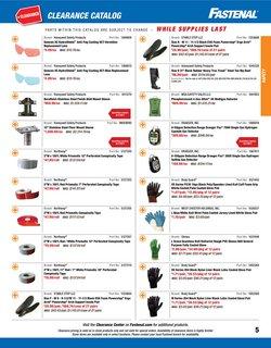 Lenses deals in Fastenal