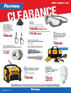 Tools & Hardware deals in the Fastenal catalog ( 11 days left)