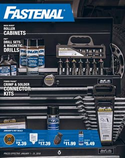Tools & Hardware deals in the Fastenal weekly ad in New York