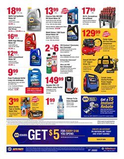 Antifreeze deals in the Napa weekly ad in New York