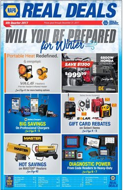 Napa deals in the New York weekly ad