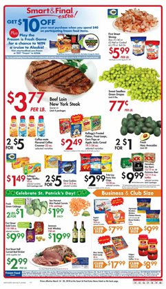 Smart & Final deals in the Modesto CA weekly ad