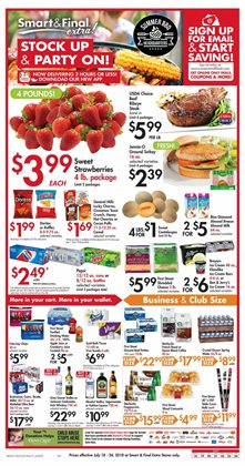 Car battery deals in the Smart & Final weekly ad in Modesto CA