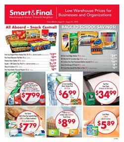 Saw deals in the Smart & Final weekly ad in Fullerton CA