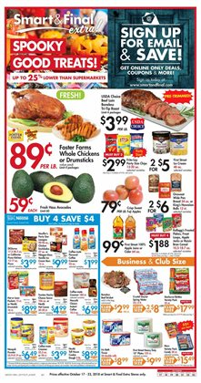 Bed deals in the Smart & Final weekly ad in Yorba Linda CA