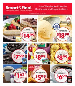 Grocery & Drug deals in the Smart & Final weekly ad in Modesto CA