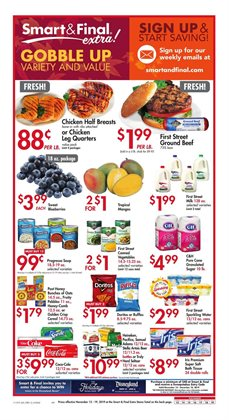 Grocery & Drug deals in the Smart & Final weekly ad in Merced CA