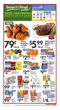 Smart & Final deals in the Vista CA weekly ad