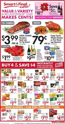 Smart & Final catalogue in Spring Valley CA ( Expires today )
