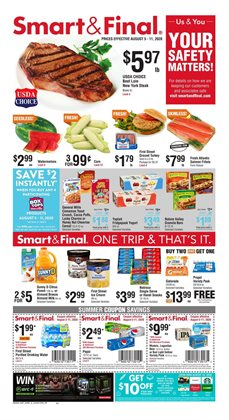 Smart & Final catalogue in Union City CA ( Expires tomorrow )