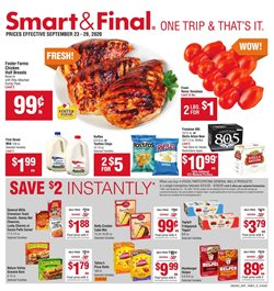 Smart & Final catalogue in Lancaster CA ( Expires today )