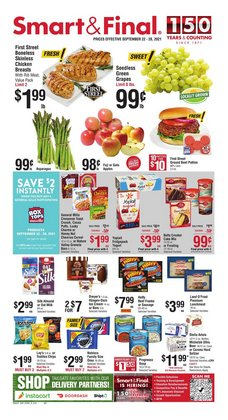Grocery & Drug deals in the Smart & Final catalog ( Expires today)