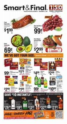 Grocery & Drug deals in the Smart & Final catalog ( Published today)