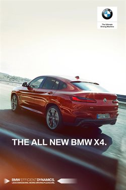Automotive deals in the BMW weekly ad in New York