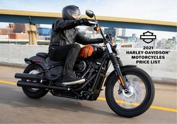 Automotive deals in the Harley Davidson catalog ( Published today)