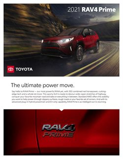 Automotive offers in the Toyota catalogue in Middletown OH ( More than a month )
