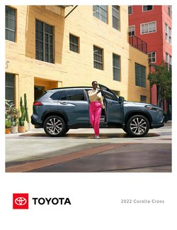 Automotive deals in the Toyota catalog ( More than a month)
