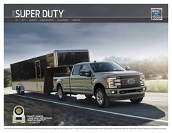Ford deals in the New York weekly ad