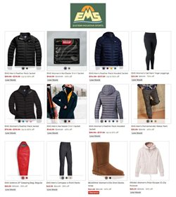 Eastern Mountain Sports catalogue ( 6 days left )