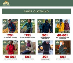 Sports offers in the Eastern Mountain Sports catalogue ( Expires today )