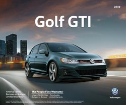 Volkswagen deals in the New York weekly ad
