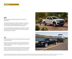 Models deals in Chevrolet