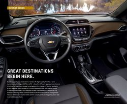 Destinations deals in Chevrolet