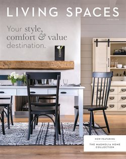 Living Spaces deals in the Phoenix AZ weekly ad