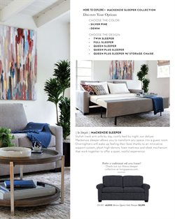 Mattress deals in the Living Spaces weekly ad in Van Nuys CA