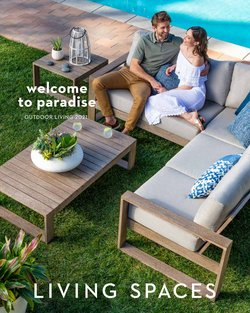 Home & Furniture deals in the Living Spaces catalog ( 13 days left)