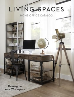 Living Spaces deals in the Living Spaces catalog ( 25 days left)